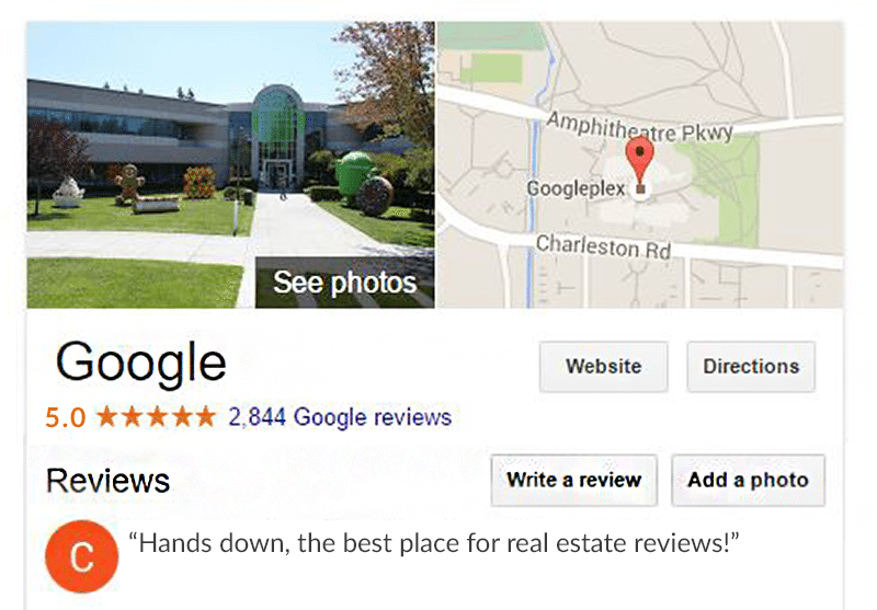 review of Google reviews
