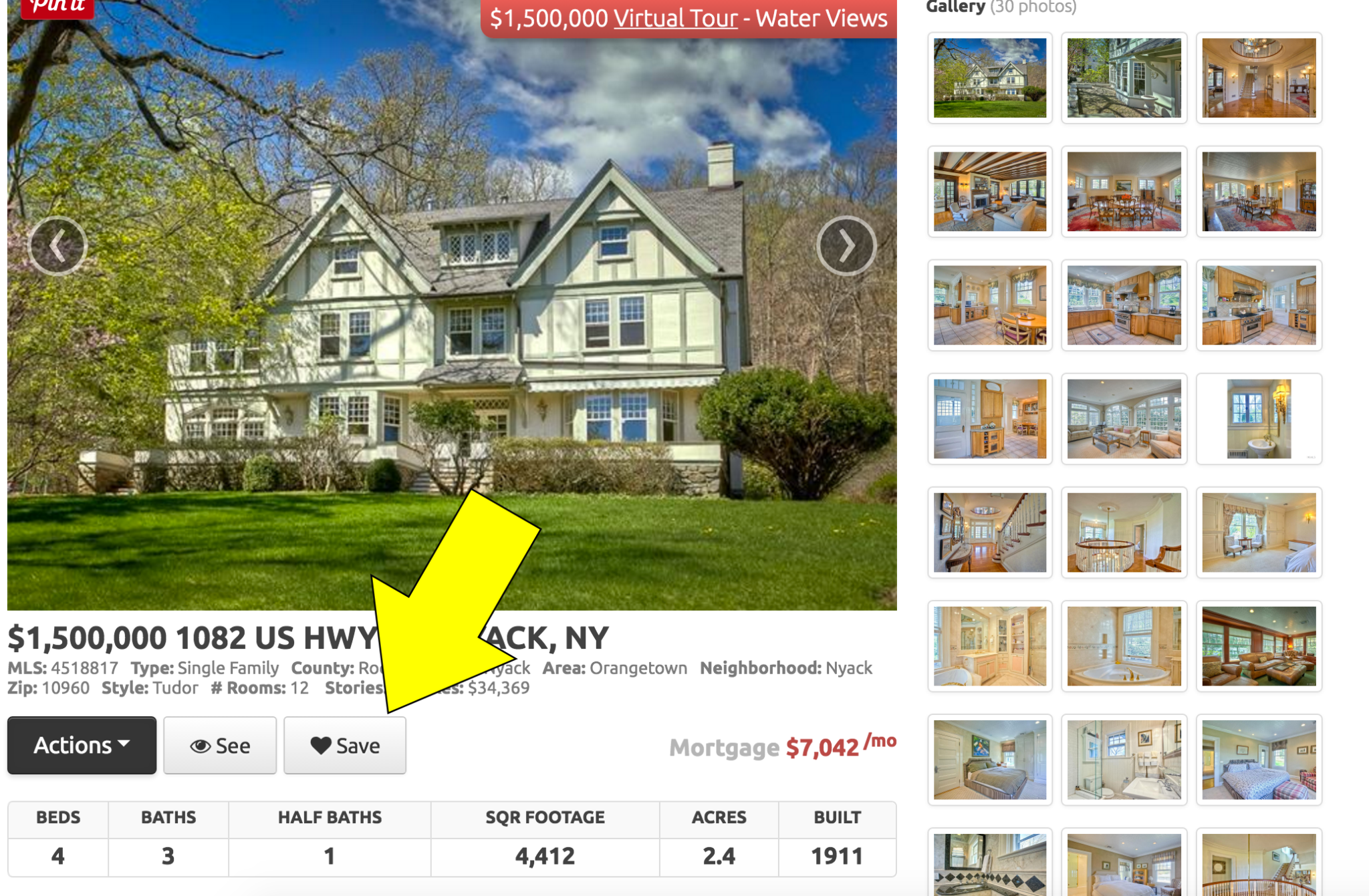 Kunversion-powered listing pages include a