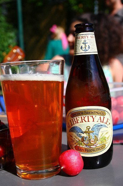 Anchor Brewing Liberty Ale/ Flickr user V31S70