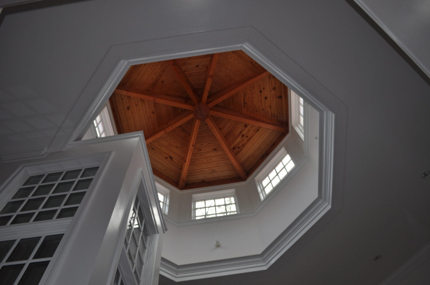 Octagonal home