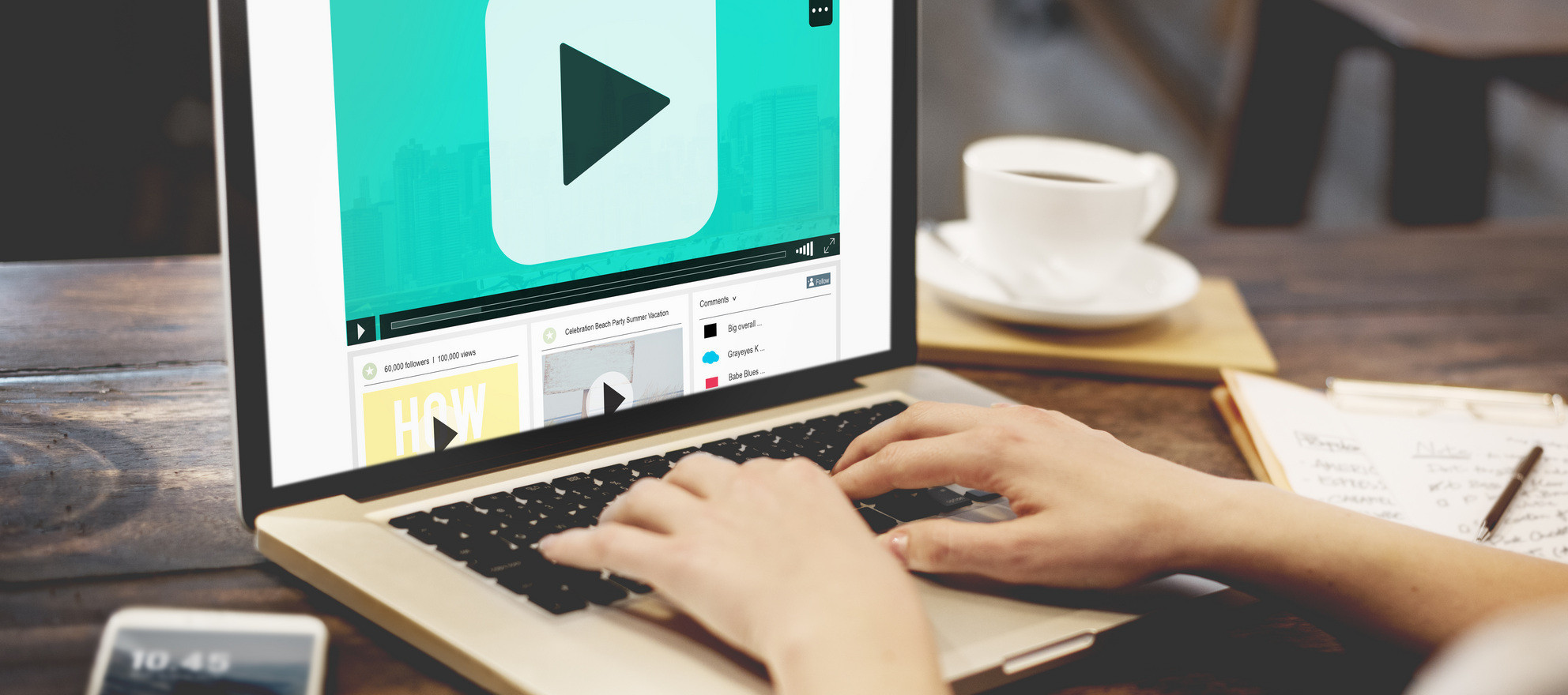 generate leads from video