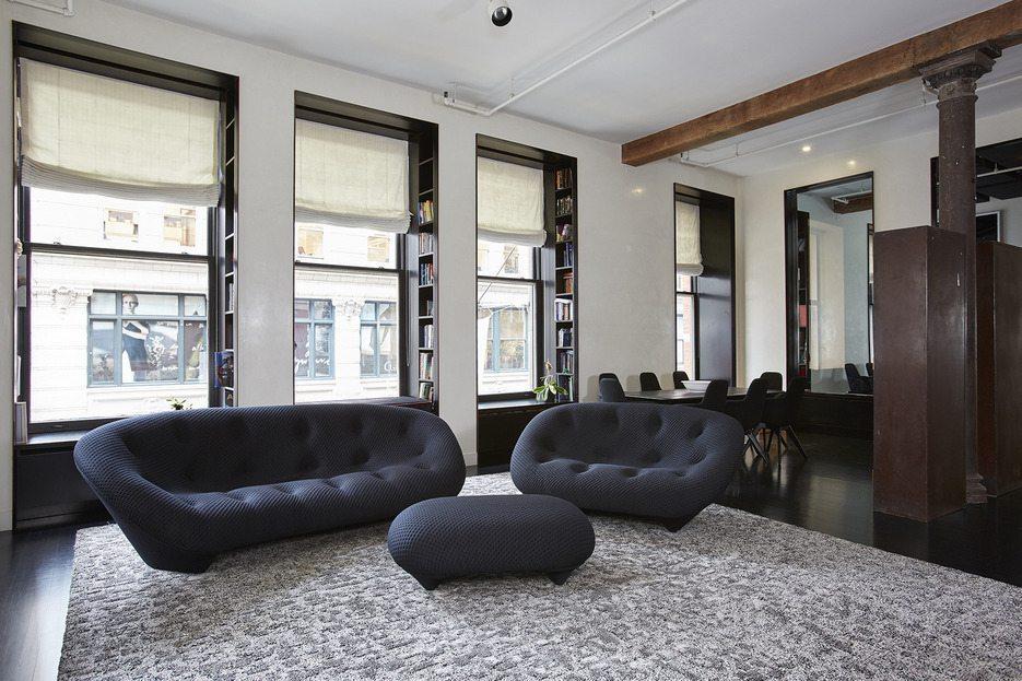 The southeast corner apartment is quite spacious.