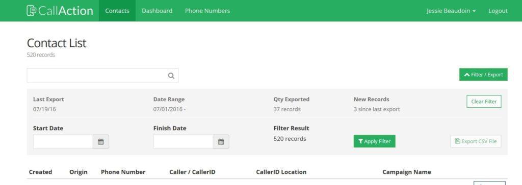 CallAction-contact-list