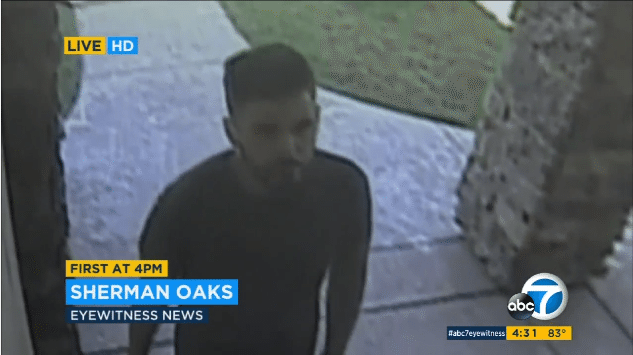 Security camera footage of the alleged thieves as reported by ABC 7 Eyewitness News.