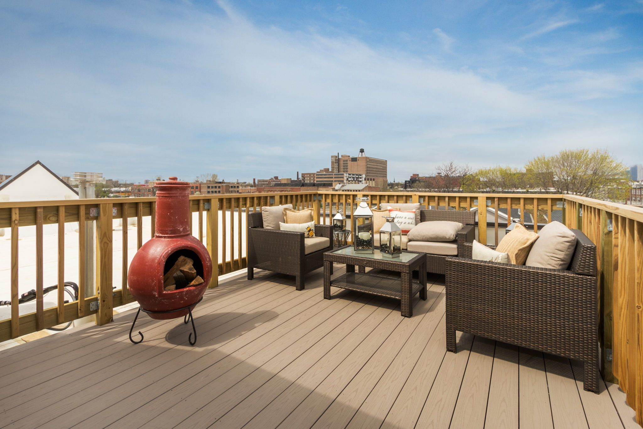 chicago's hottest residential rooftops