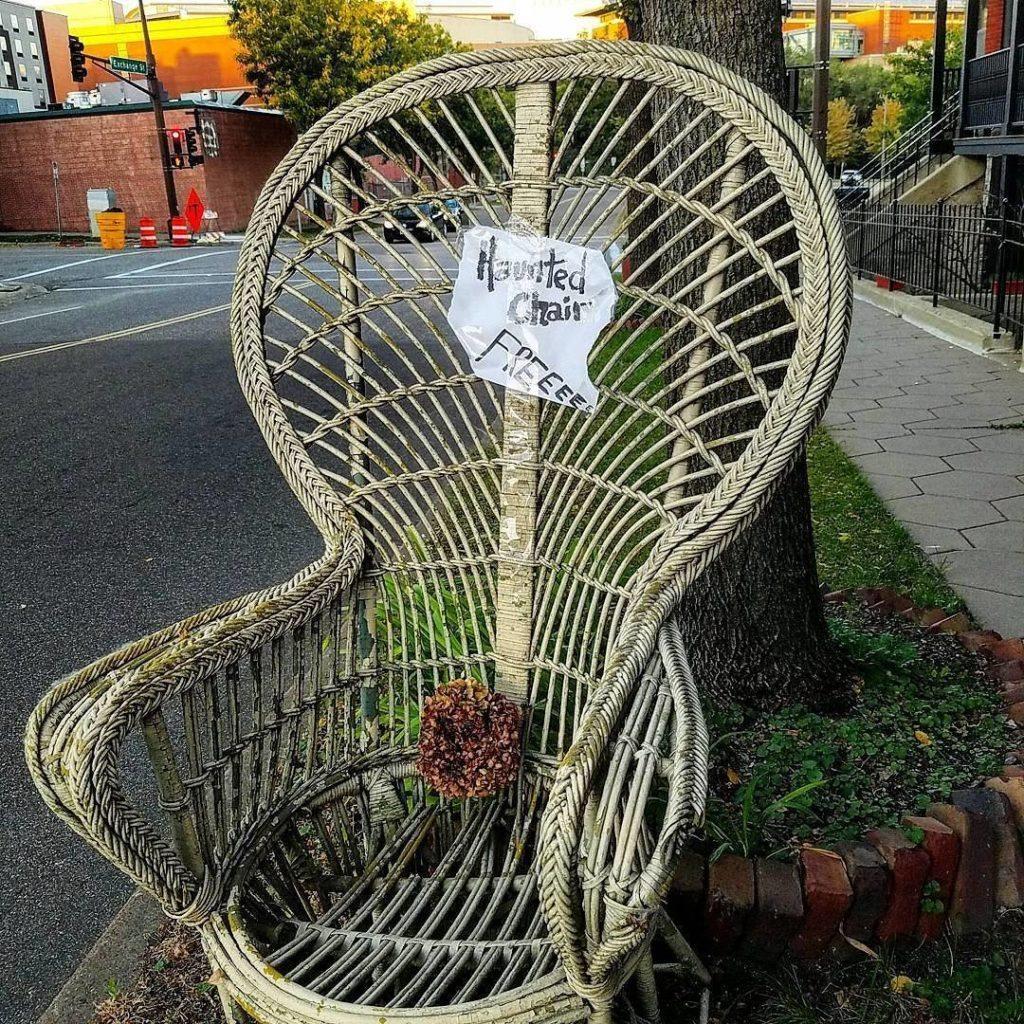 The haunted chair Teresa Boardman found