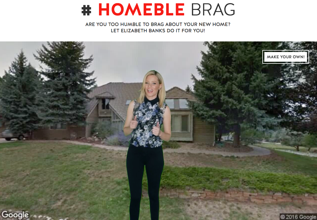 "Screen shot of realtor.com ""Homblebrag"" video"