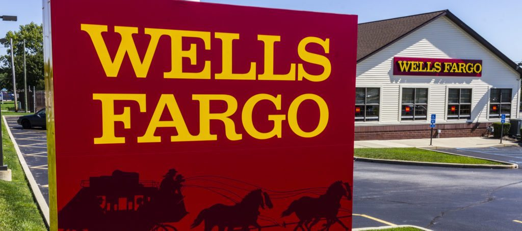 A Wells Fargo bank