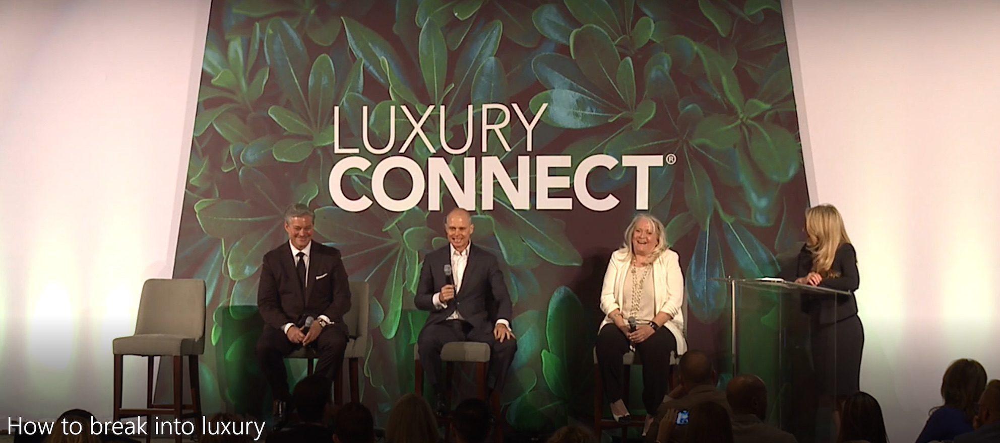 break into luxury real estate