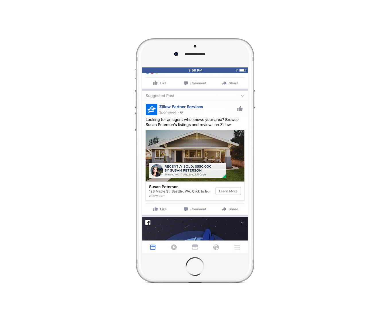 mobile-facebook-ad-zillow