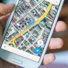 Google Maps on a Samsung phone