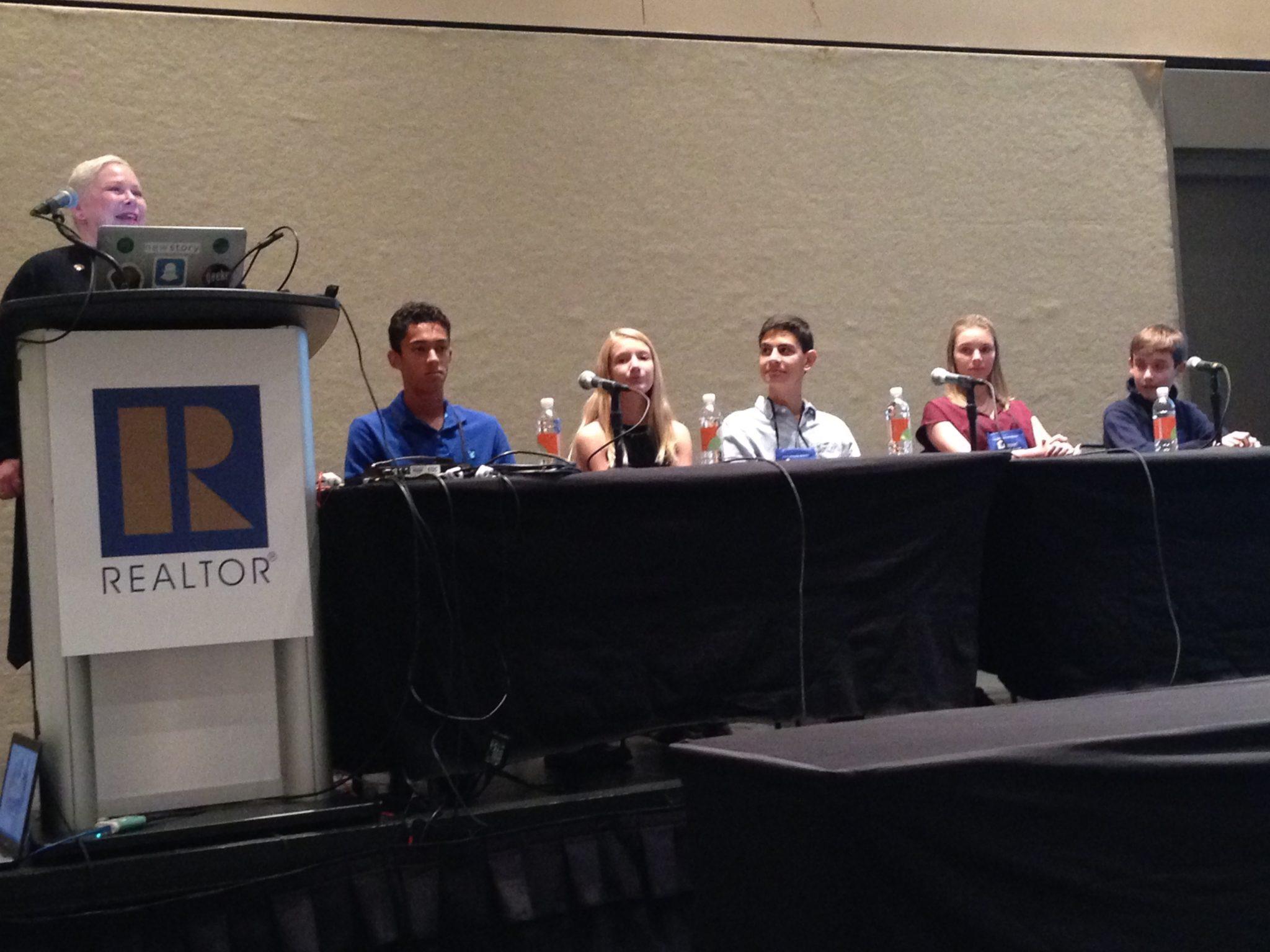 Generation Z panel at NAR annual conference, November 2016