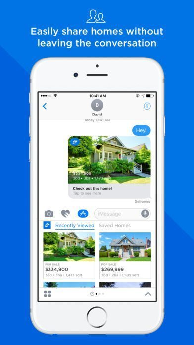 Zillow iMessage