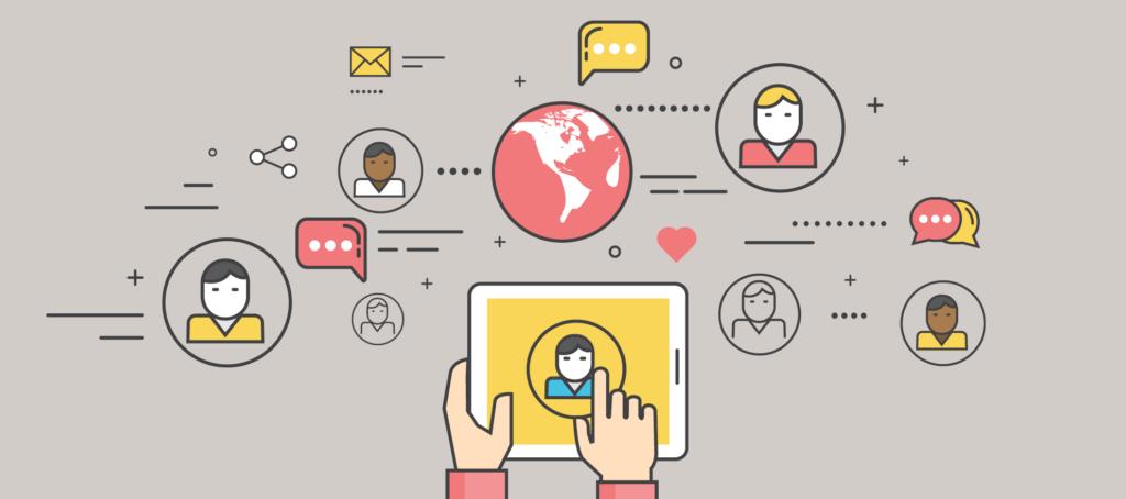 ReferralExhange social media generate referral business