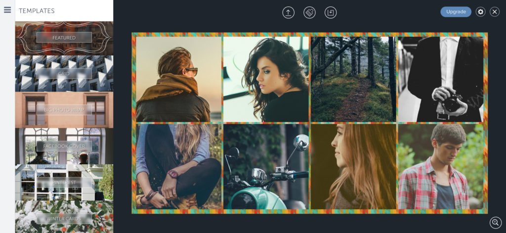 Be Funky Collage Editor Online