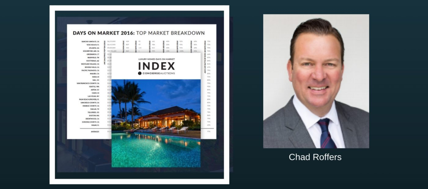concierge auctions days on market report