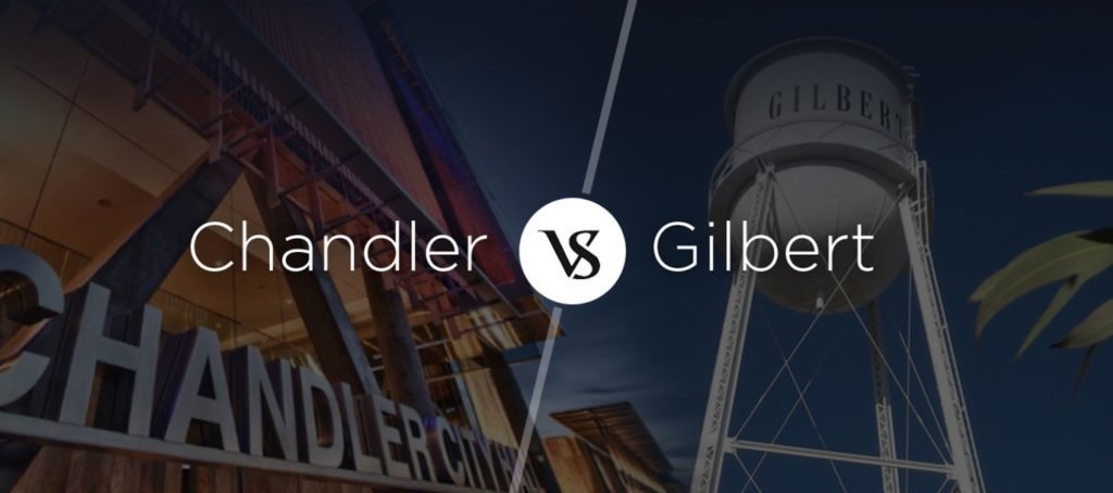 chandler vs gilbert arizona