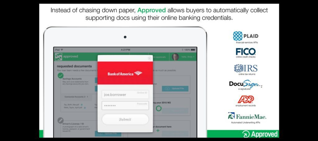 approved mortgage platform