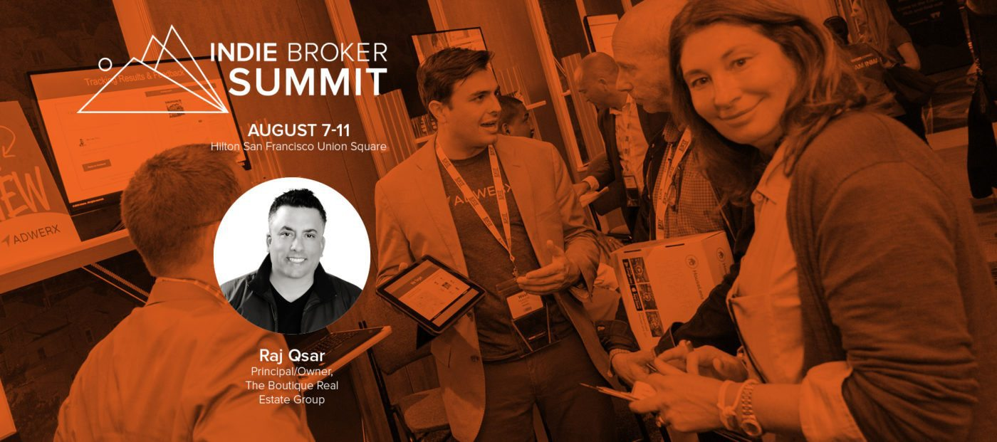 raj qsar indie broker summit