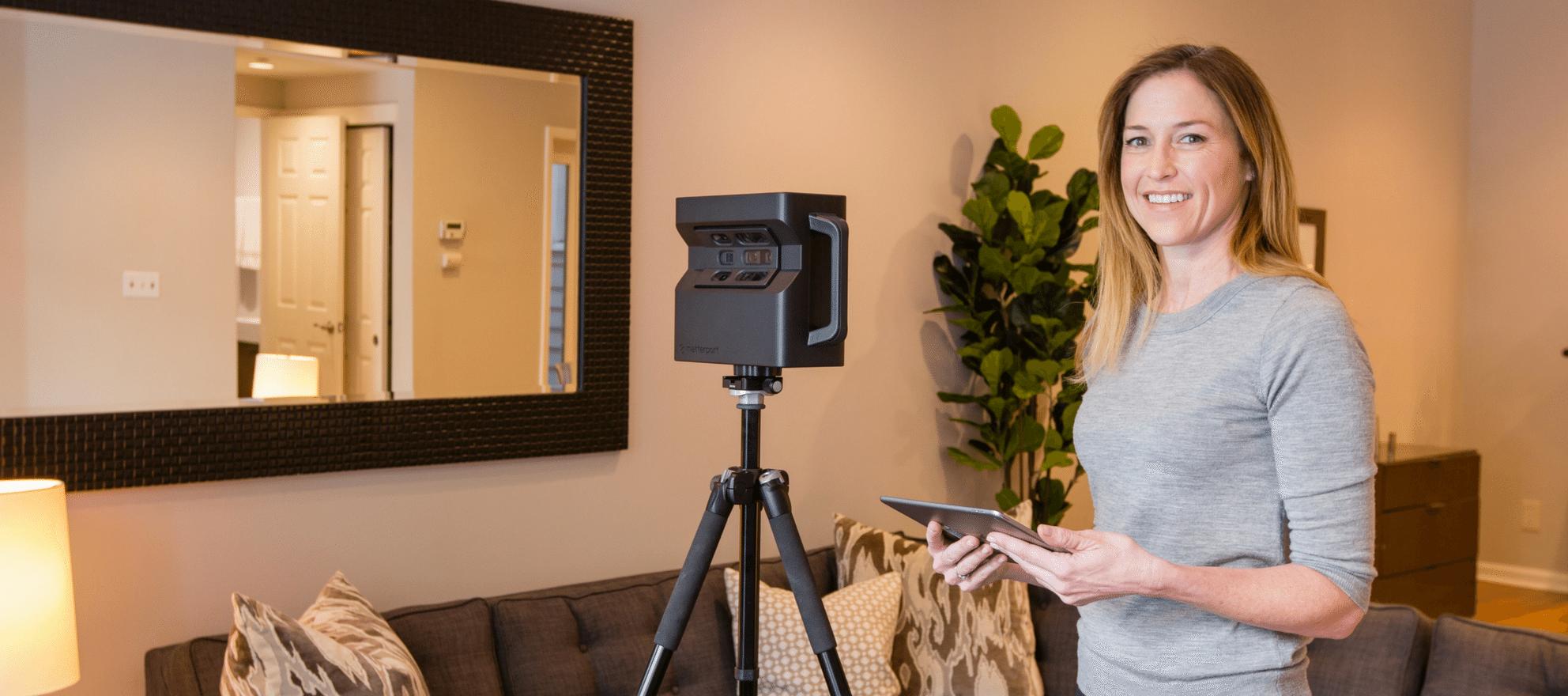 new matterport 3-d camera 2-d capability