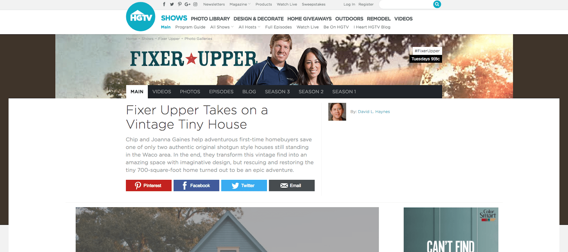 Fixer Upper Chip Gaines Real Estate Brokerage Now A 1m Plus