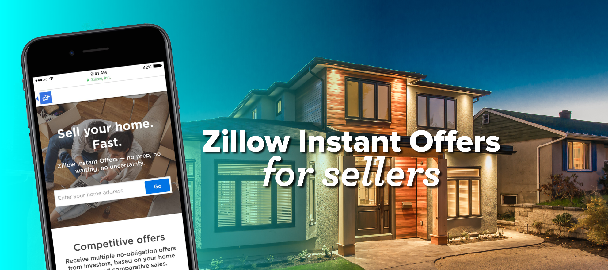 Zillow – push vs. pull