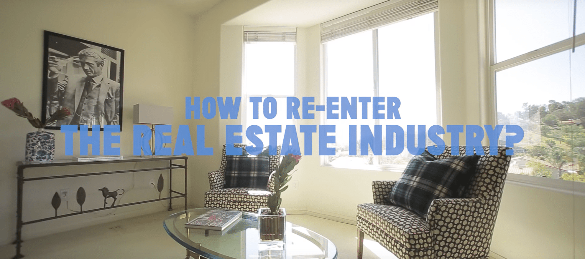 re-entering real estate