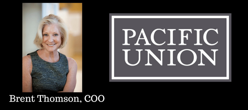 pacific union coo brent thomson