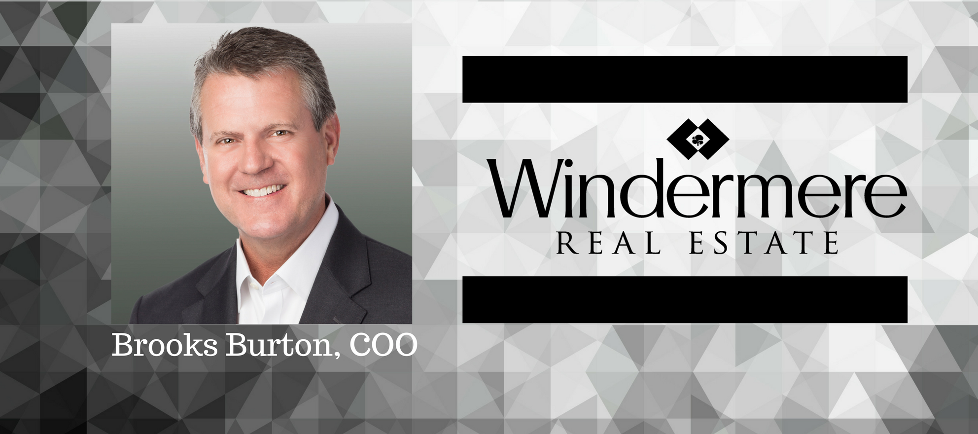 windermere real estate first coo brooks burton