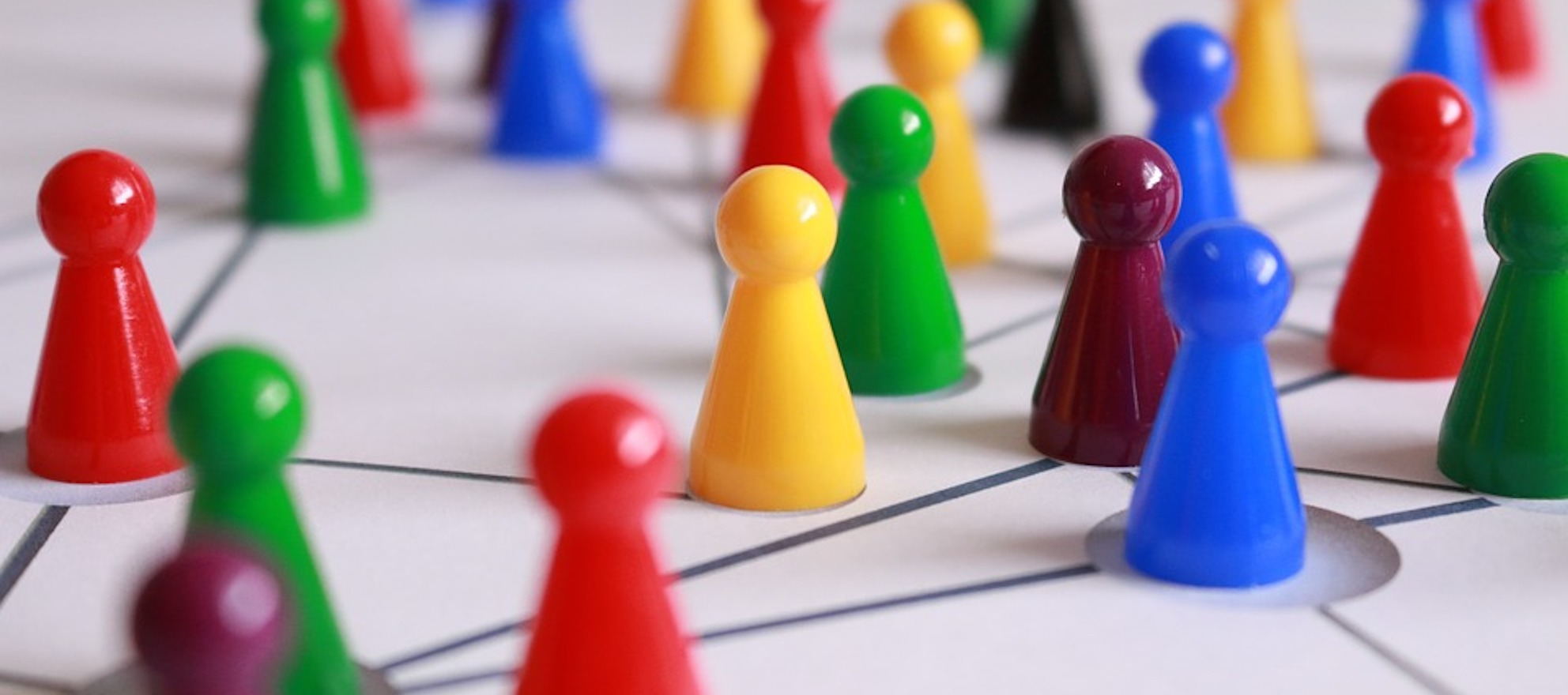 build your network in a new area