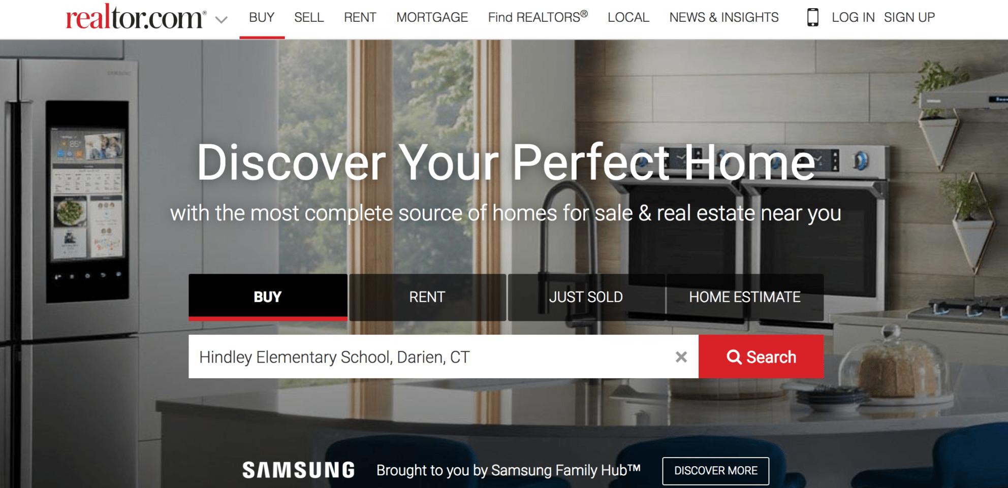 realtor.com school search