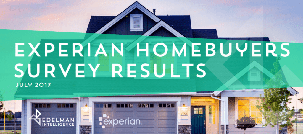Experian Homebuyers Survey 2017