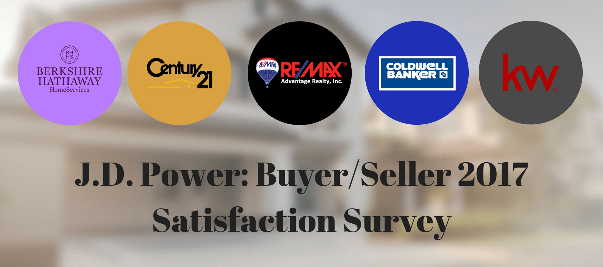 JD Power 2017 Homebuyer/Seller Satisfaction Study