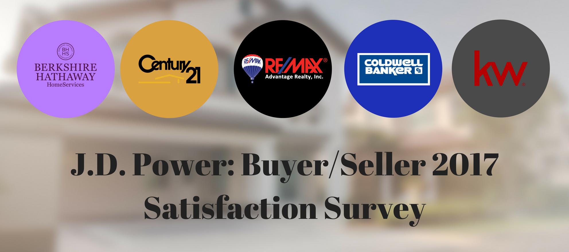 JD Power 2017 Homebuyer/Seller Satisfaction Study