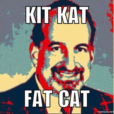 Bob Goldberg's fat cat candy suite