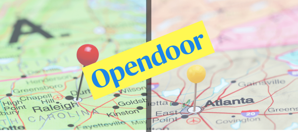 opendoor raleigh atlanta