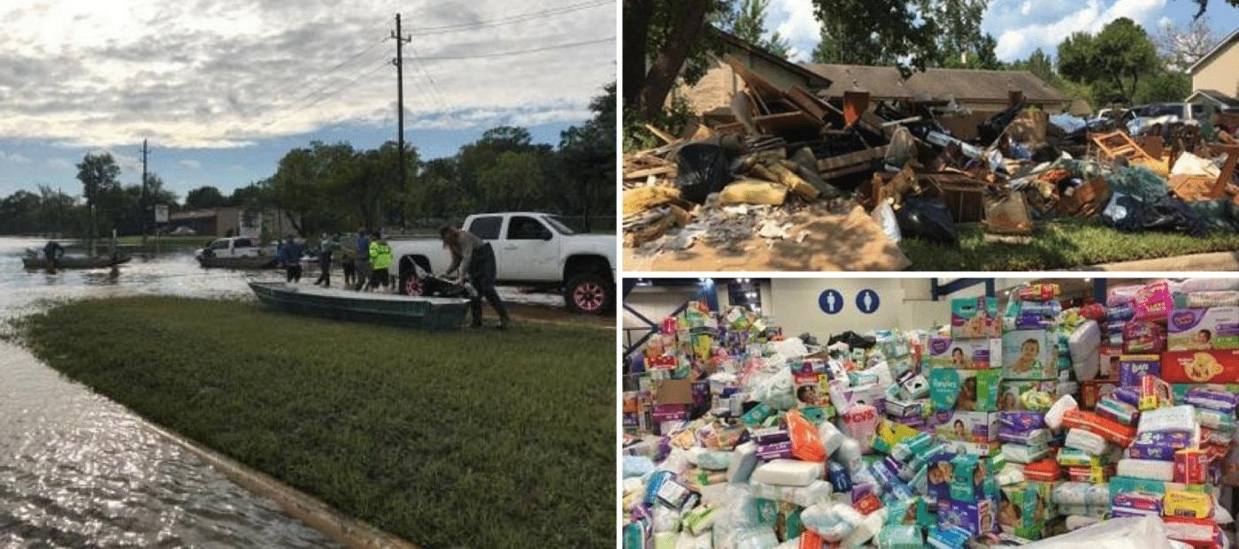 hurricane harvey aid workers