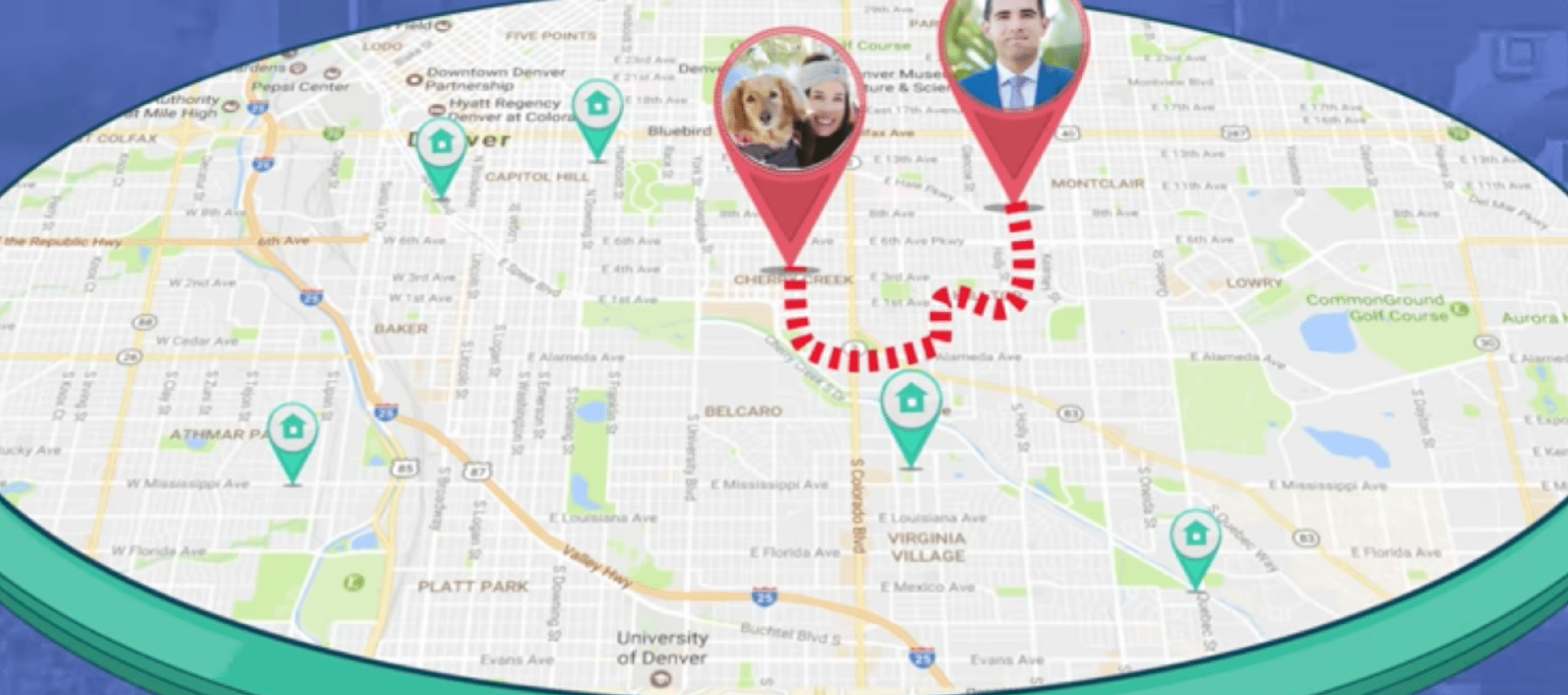 arrivehome on-demand agent app
