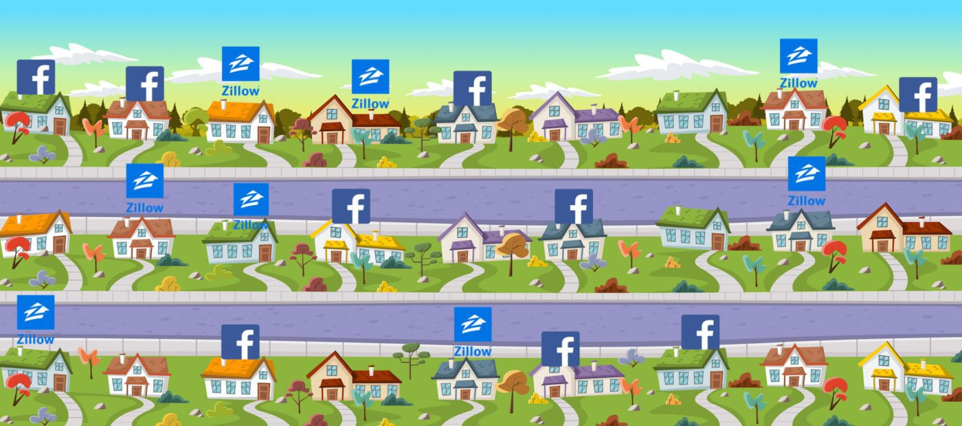 facebook real estate zillow