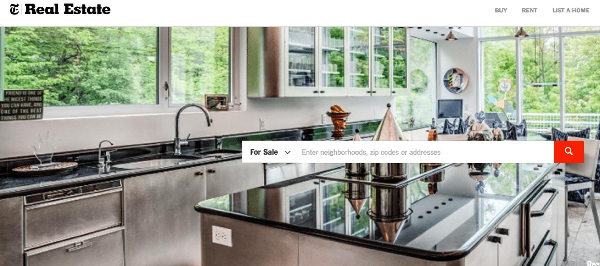 nyt real estate listings rebny