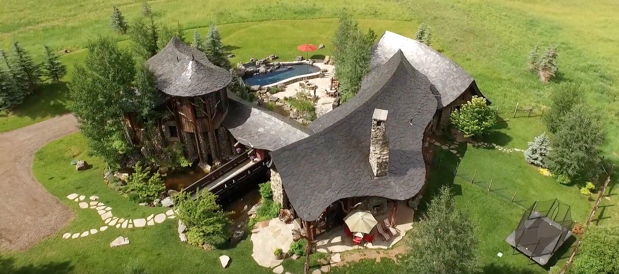 This $29.9M Aspen hideaway justifies a six-minute property vid