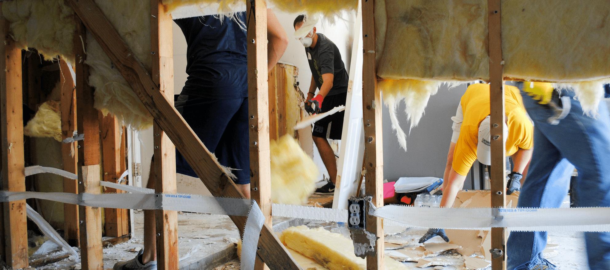 Hurricane Harvey rebuilding