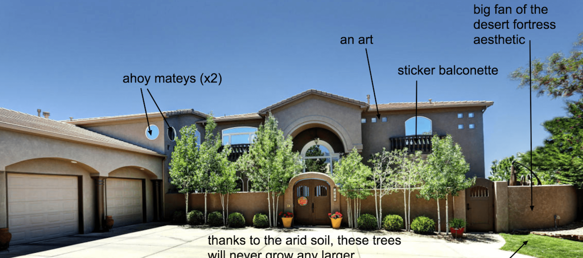 McMansion Hell blogger explains the sadness of living large