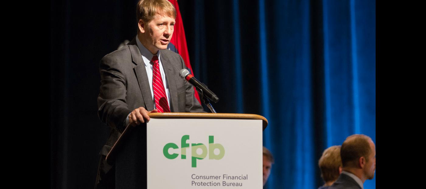 CFPB director Richard Cordray resigns