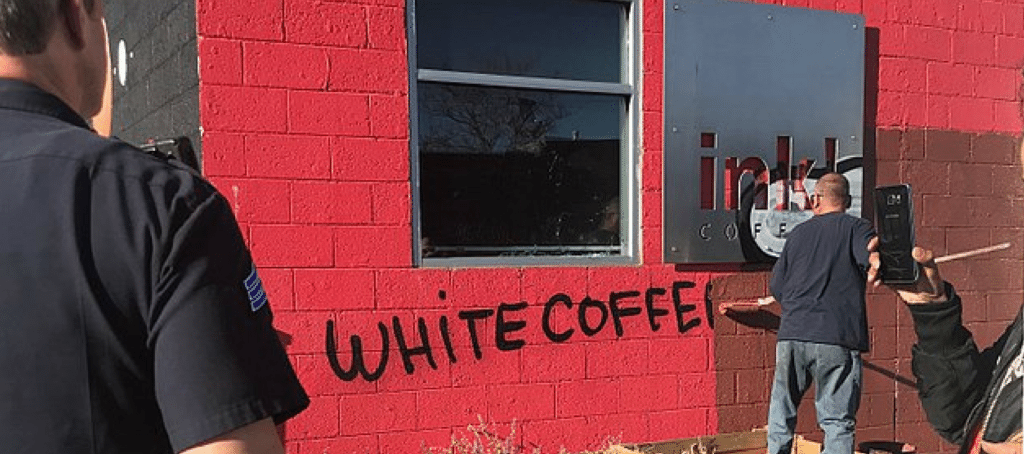 Coffee shop jokes about gentrification, ignites backlash