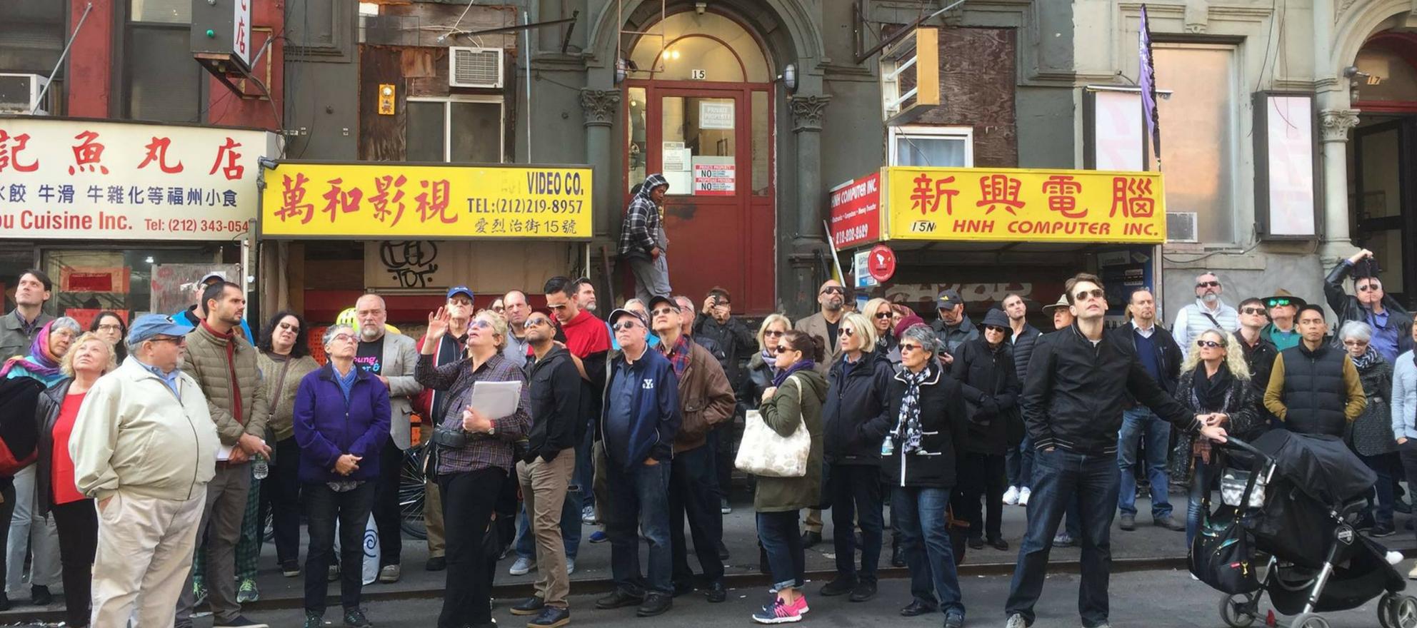 rediscovering new york walking tours