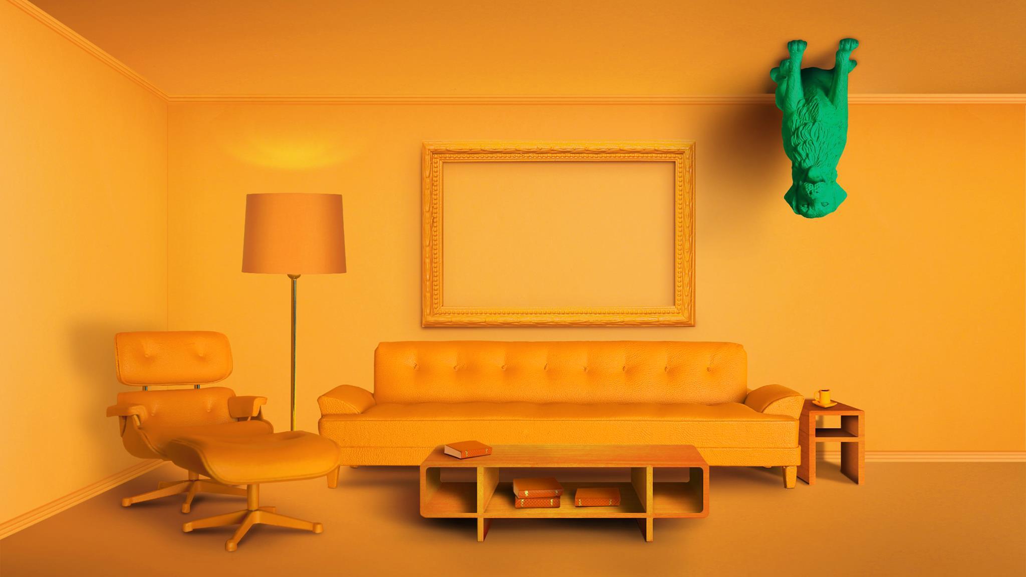 Magic Leap orange room promo image
