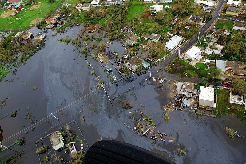 Puerto Rico suffered double hurricane disaster