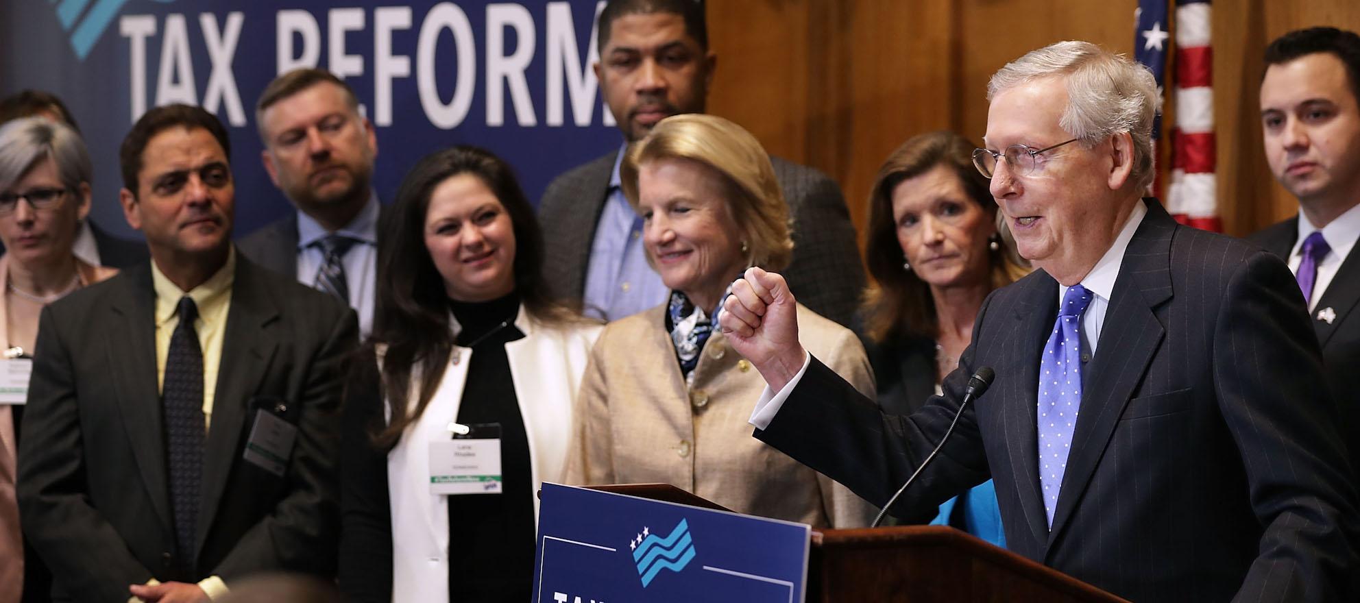 Senate passes tax reform bill following flurry of last-minute amendments
