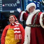 Santa on New York Stock Exchange